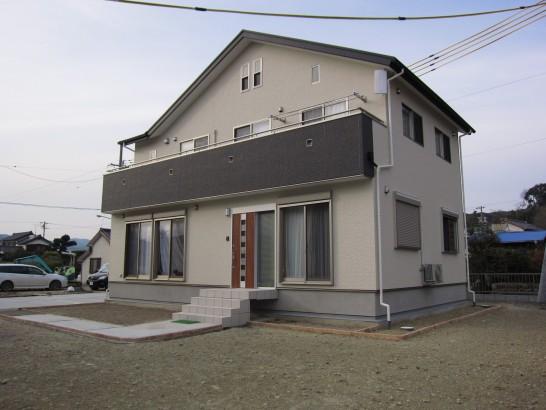 エアー断震システムの家